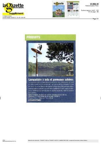 La Gazette des communes Thierry Vidé mai 2010