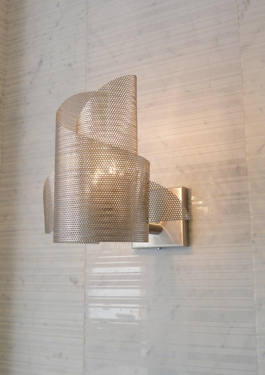 Luminaire Applique mural Ange et Démon zoom Thierry Vidé Design