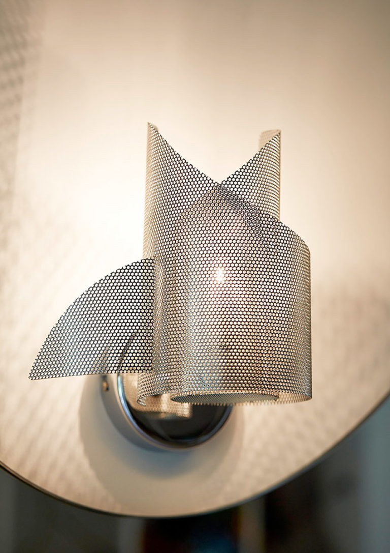 Lighting Angel & Demon wall lamp focus Thierry Vidé Design