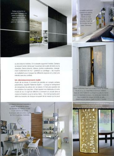 Maison à Vivre Campagne Magazine Thierry Vidé avril 2014