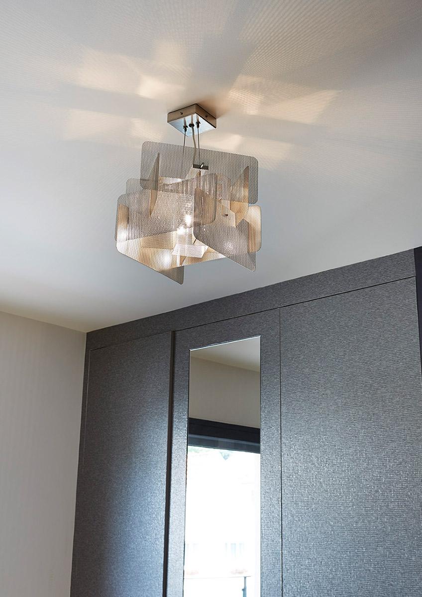 Luminaire Suspension Cube chambre Thierry Vidé Design