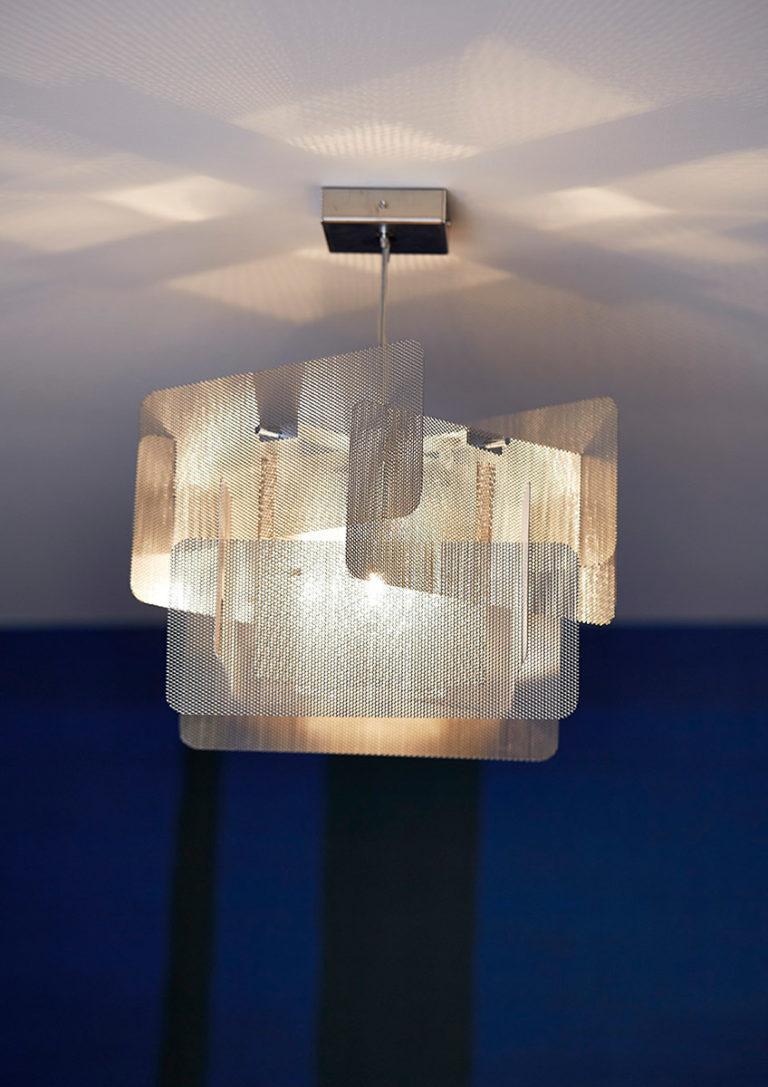 Luminaire Suspension Cube Focus Thierry Vidé Design