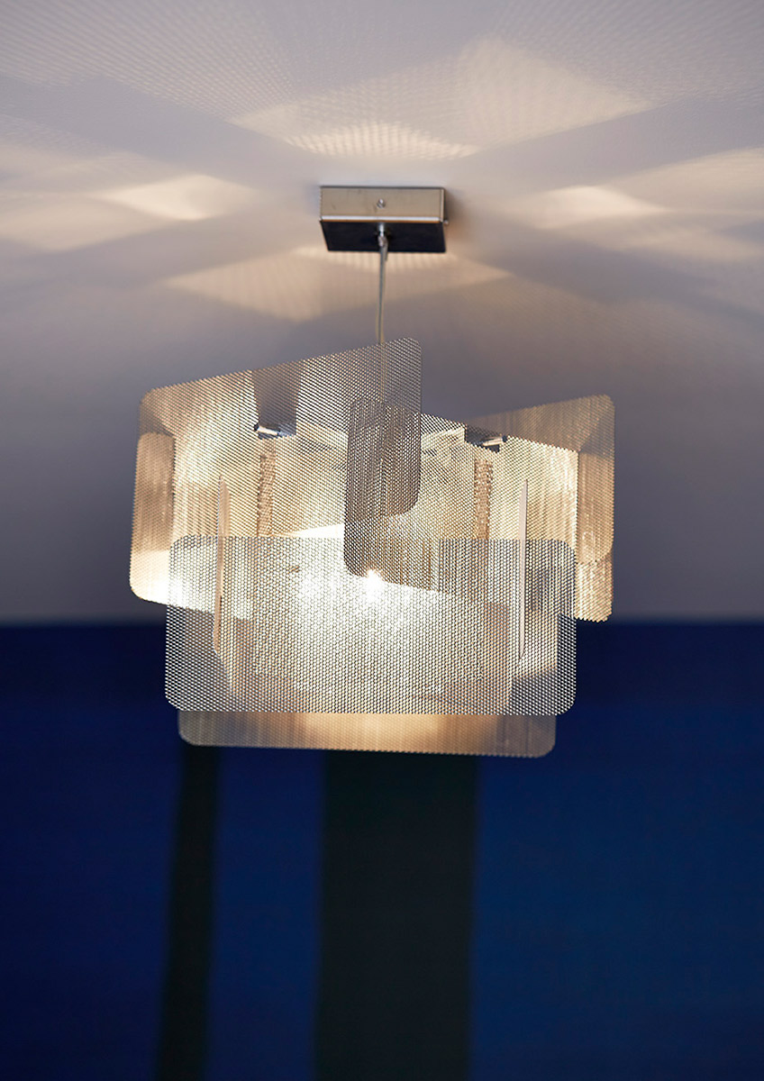 Luminaire Suspension Cube Focus Thierry Vidé Design