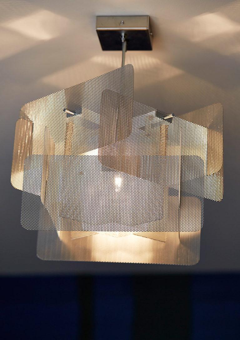 Luminaire Suspension Cube zoom Thierry Vidé Design