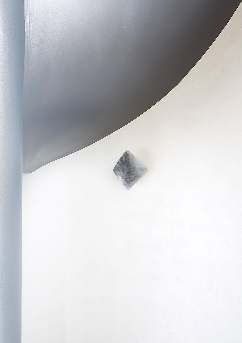 Luminaire Applique murale Éclipse canon de fusil éteinte Thierry Vidé Design