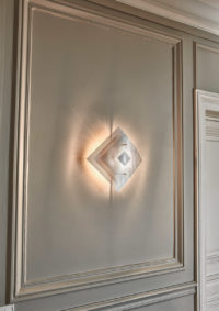 Light wall lamp eclipse Thierry Vidé Design