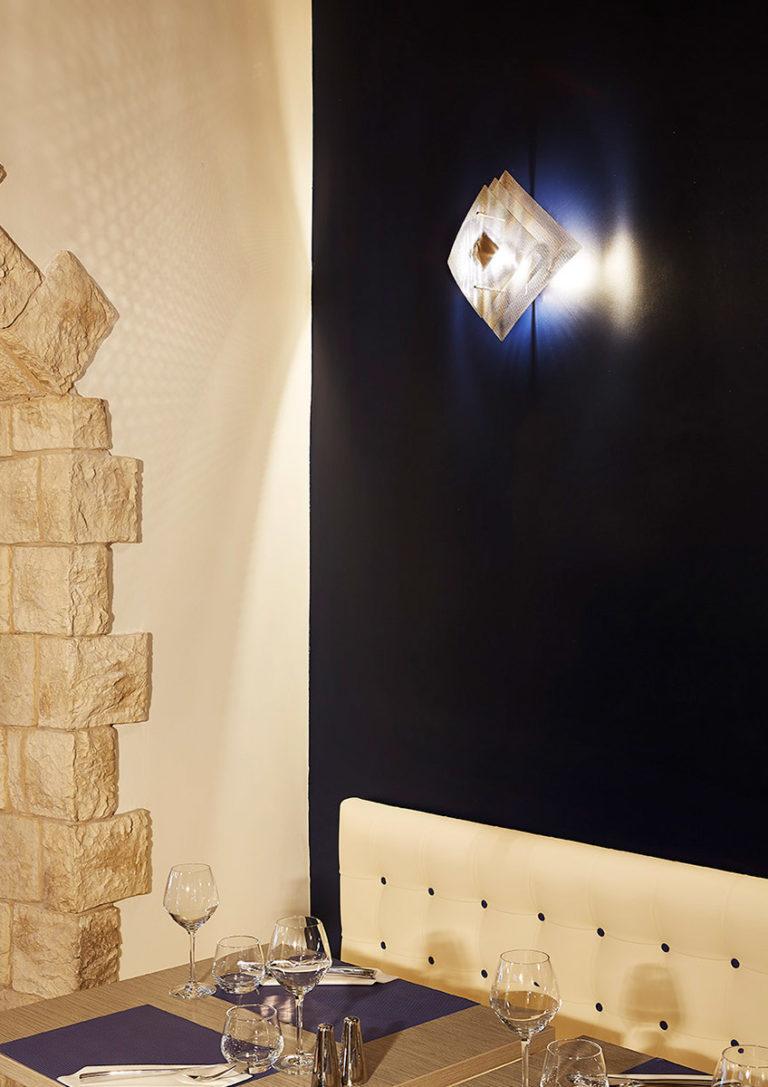Lighting wall lamp eclipse Thierry Vidé design