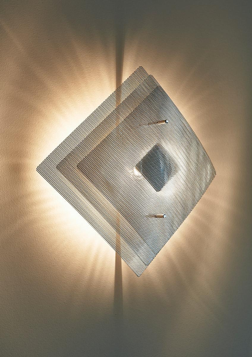 Luminaire applique murale Éclipse zoom Thierry Vidé Design