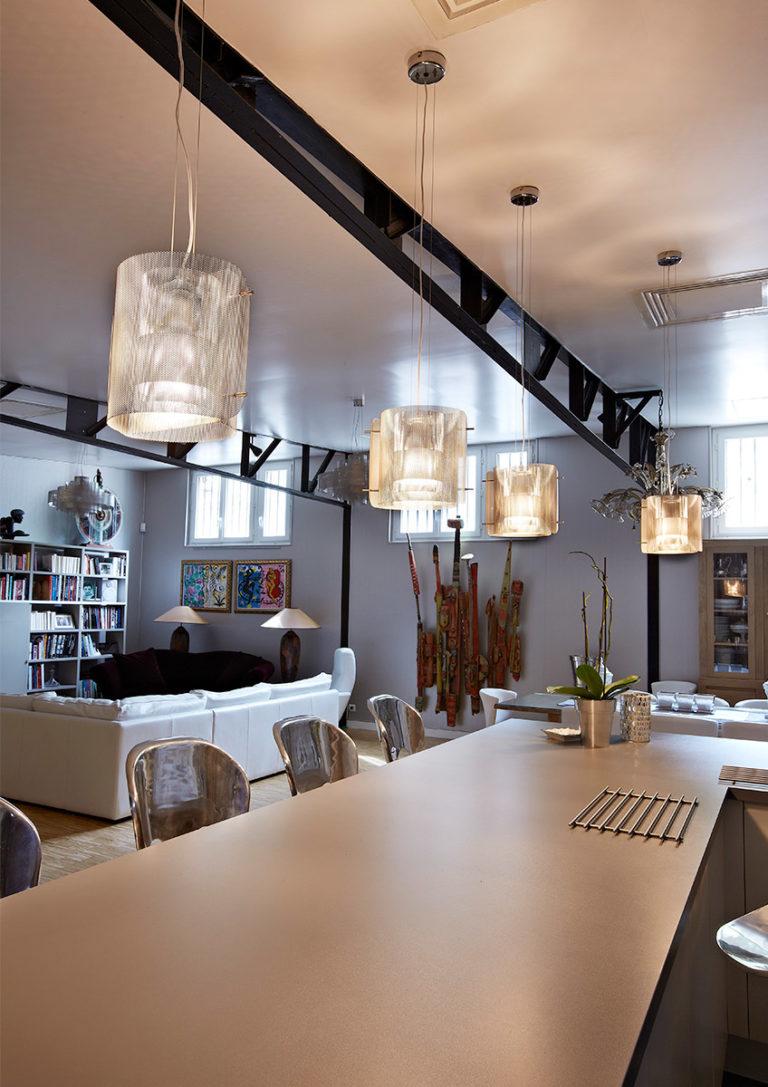 Luminaire Suspension Ellipse Cuisine - Thierry Vidé Design