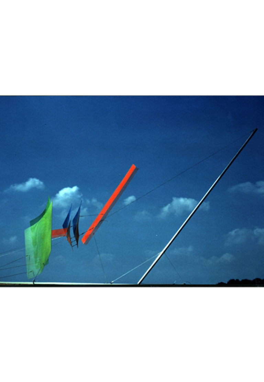 Sculpture static flight sky Thierry Vidé Design