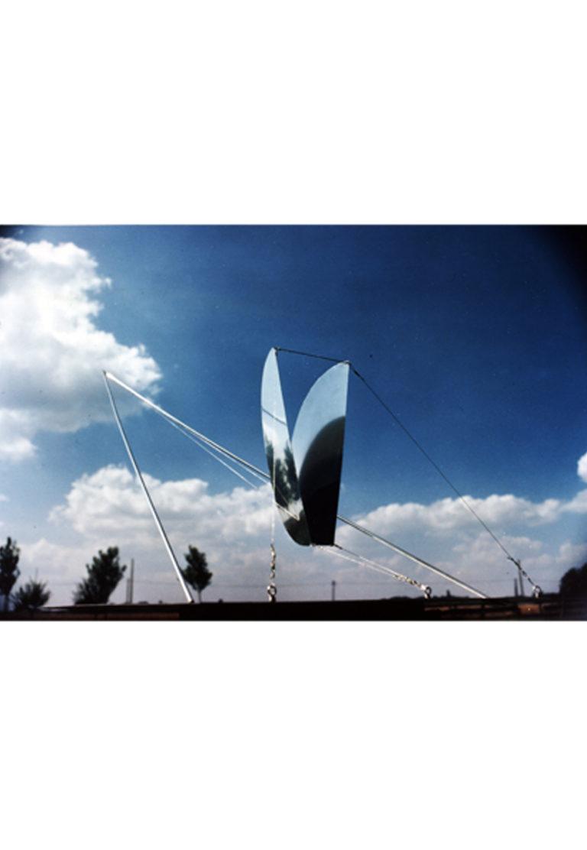 Sculpture static flight gravity Thierry Vidé Design