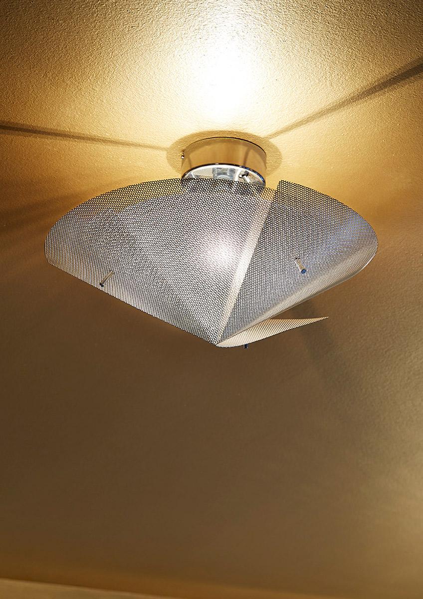 Luminaire plafonnier petit Étoile zoom Thierry Vidé Design