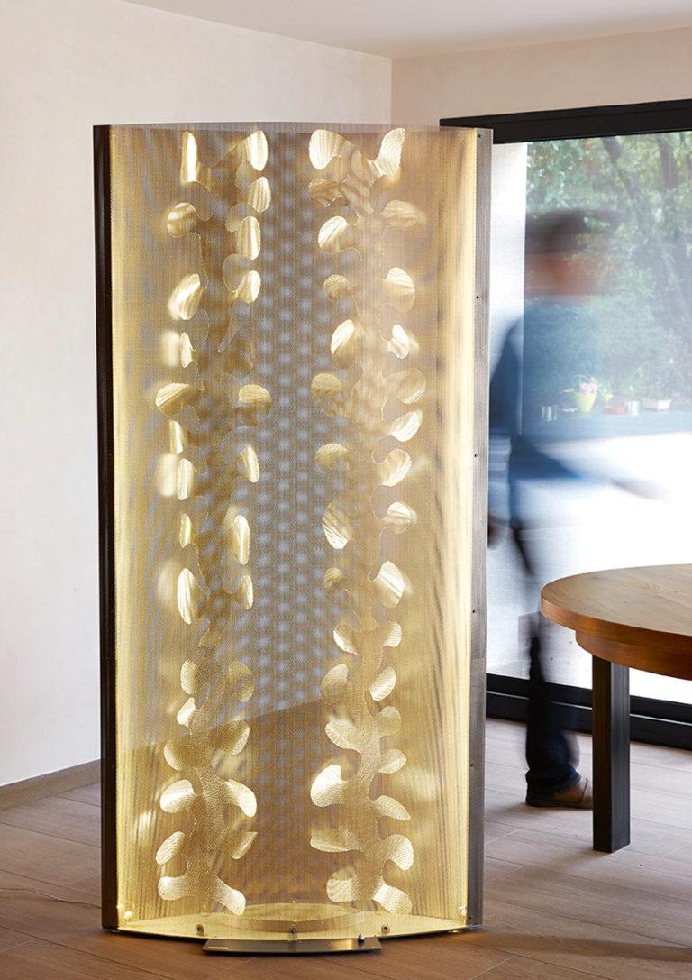 Luminaire Paravent Floral Bureau Thierry Vidé Design
