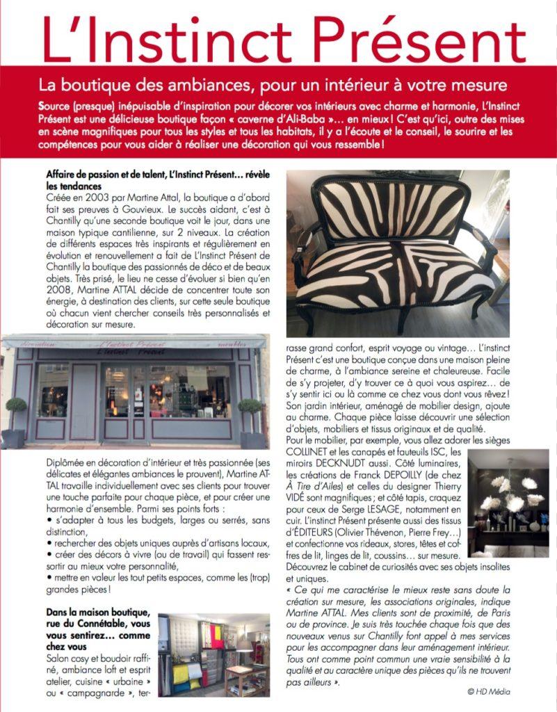 Instinct Présent Thierry Vidé Mai 2016