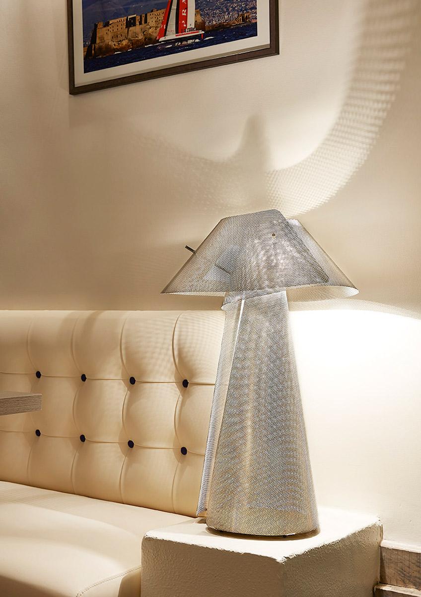 Luminaire Lampe à poser Tourbillon salon Thierry Vidé Design