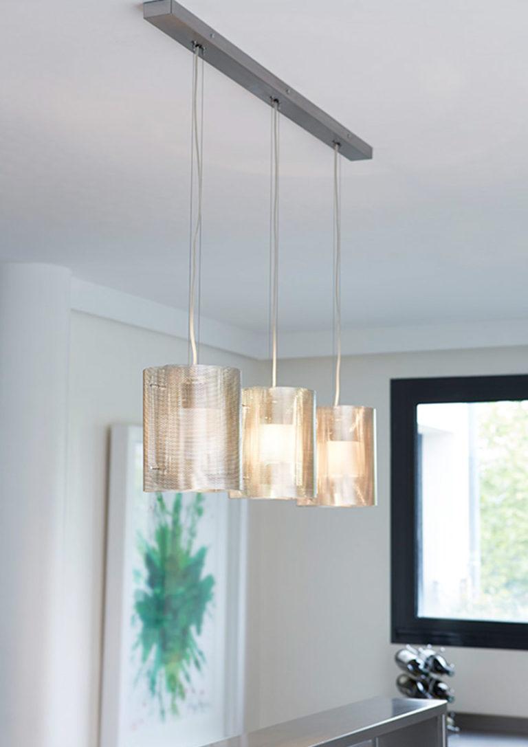 Lighting Ellipse trilogy in kitchen Thierry Vidé Design
