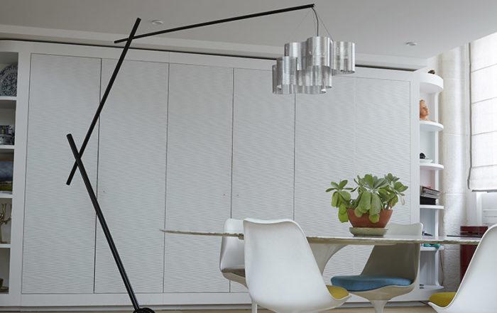 Luminaire lampe perche l'Arbre éteinte salon Thierry Vidé Design