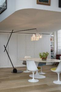 Luminaire lampe perche l'Arbre allumé table Thierry Vidé Design