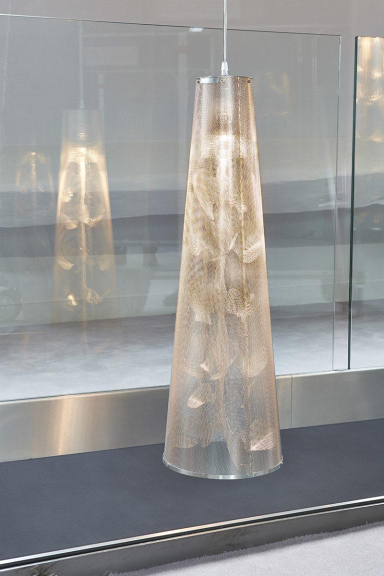 Luminaire Suspension Florale descente focus Thierry Vidé Design