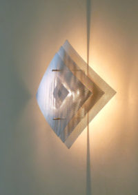 Light wall lamp big eclipse zoom Thierry Vidé Design