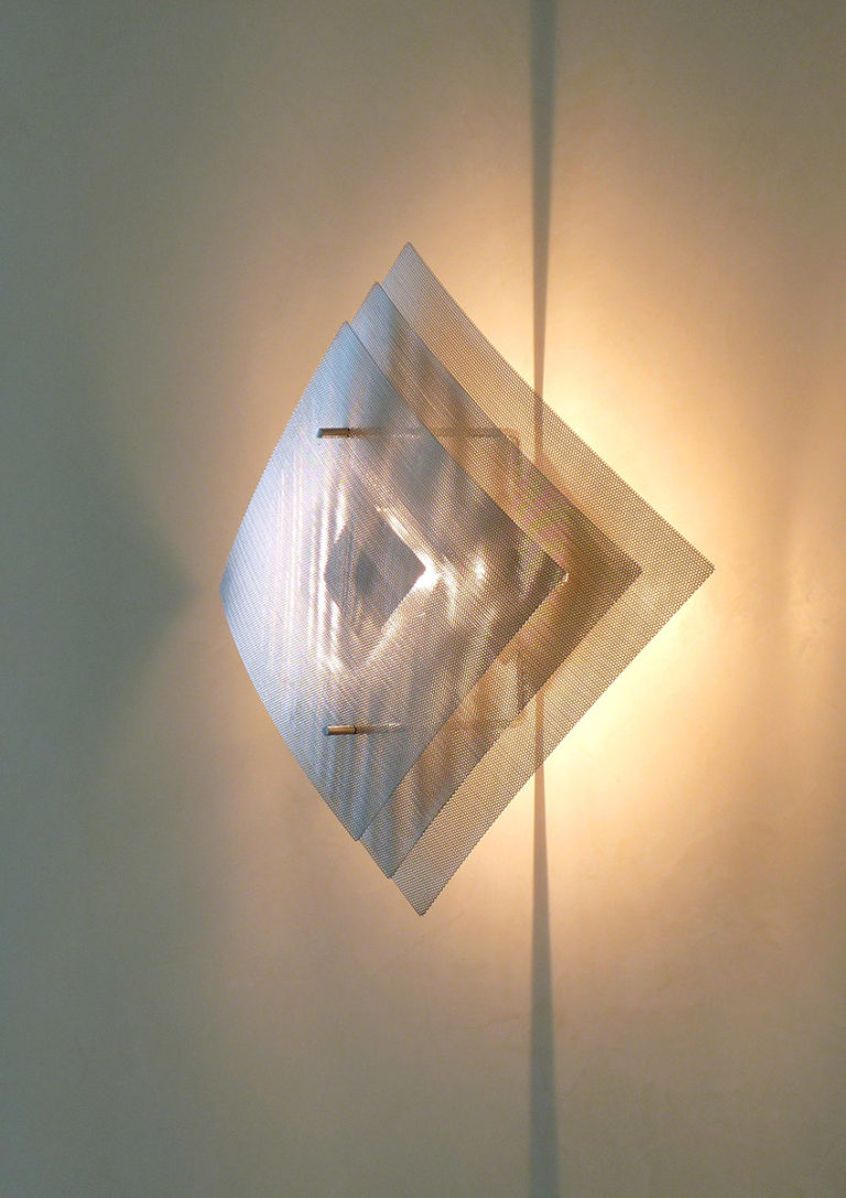 Lighting wall lamp big size Eclipse zoom Thierry Vidé Design