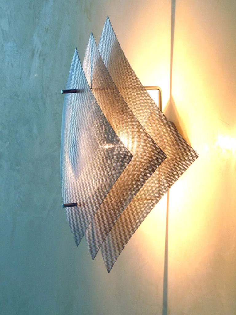 Lighting wall lamp big size Eclipse one side Thierry Vidé Design