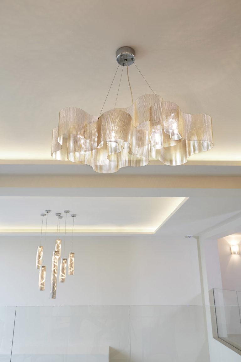 Luminaire Suspension Nuage salon Thierry Vidé Design