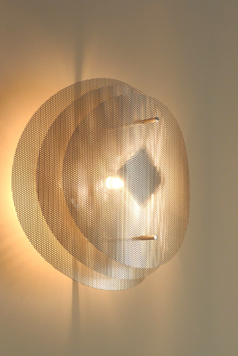 Lighting wall lamp solar circle zoom Thierry Vidé Design