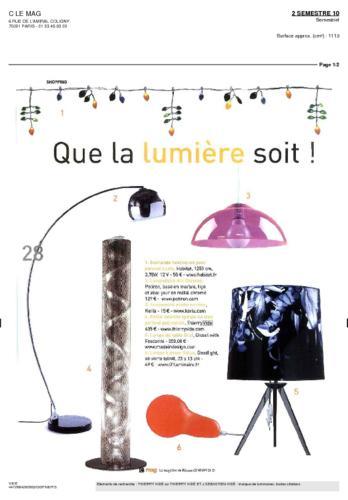 C le Mag Thierry Vidé Mars Mai 2010