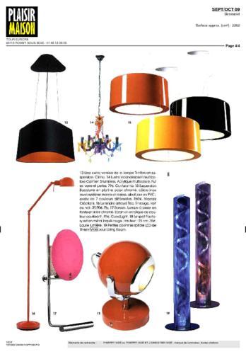 Plaisir Maison Magazine Thierry Vidé Septembre Octobre 2009