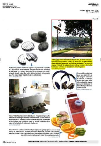 Déco Mag Thierry Vidé février Avril-Mai 2011