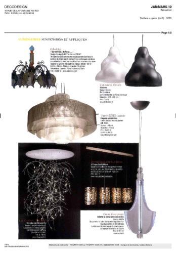 Déco Design Thierry Vidé Janvier Mars 2010