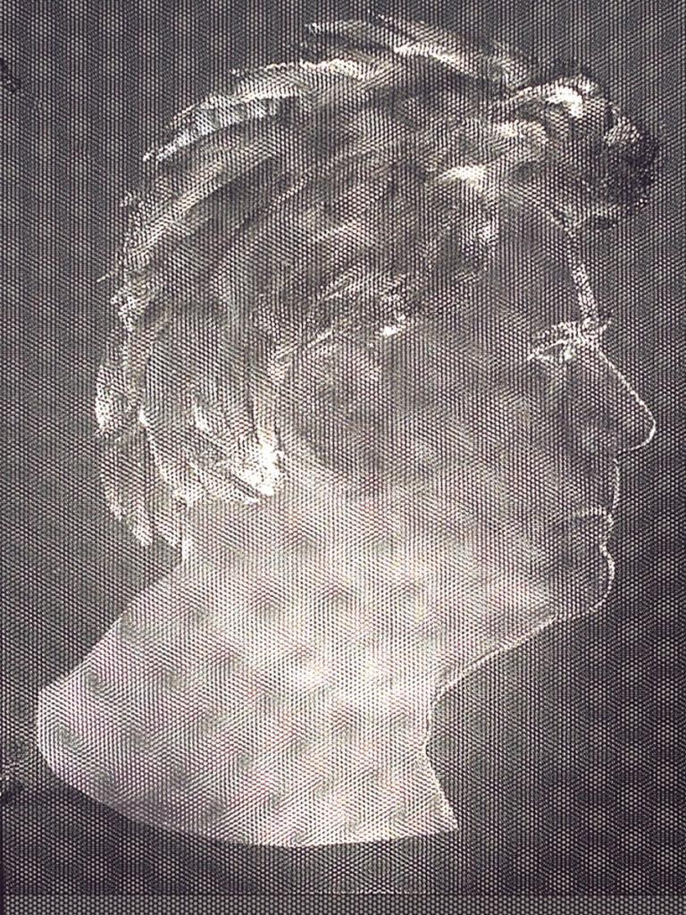 Sculpture autoportrait zoom exposition Galerie Roland Berger Thierry Vidé Design