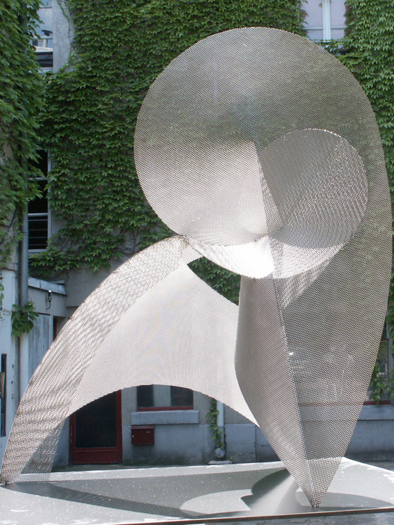 Sculpture circumference exhibition garden focus Roland Berger Thierry Vidé Design