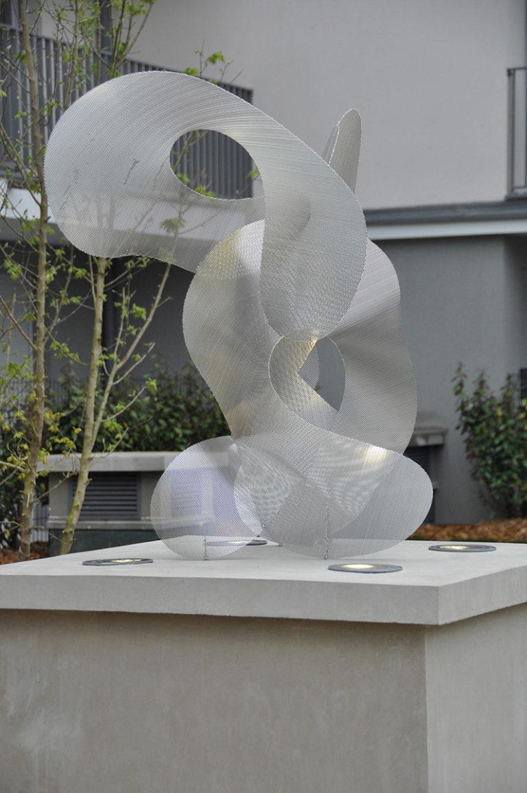 Sculpture Constellation de jour Noisy le Grand Thierry Vidé Design