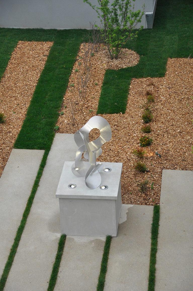 Sculpture Constellation de jour vue d'ensmble Noisy le Grand Thierry Vidé Design