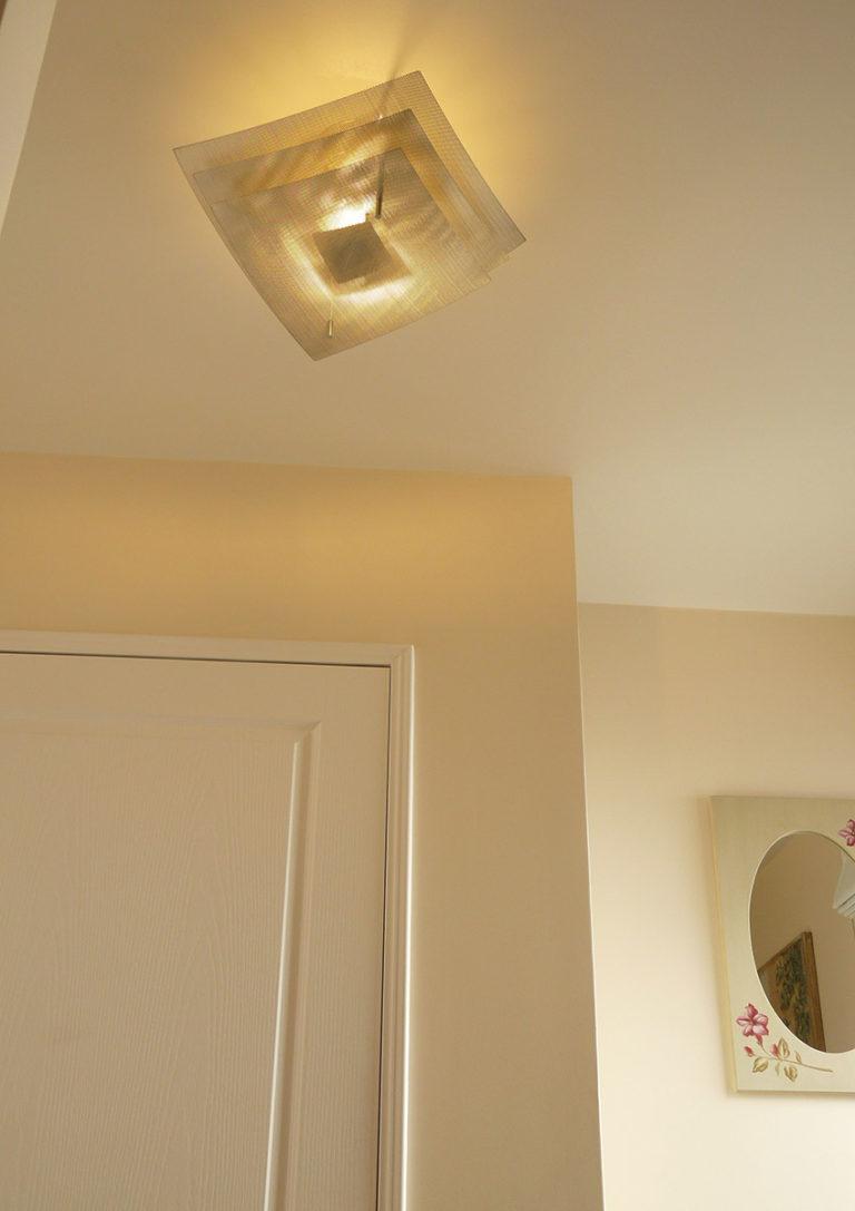 Lamp ceiling light eclipse corridor focus Thierry Vidé Design