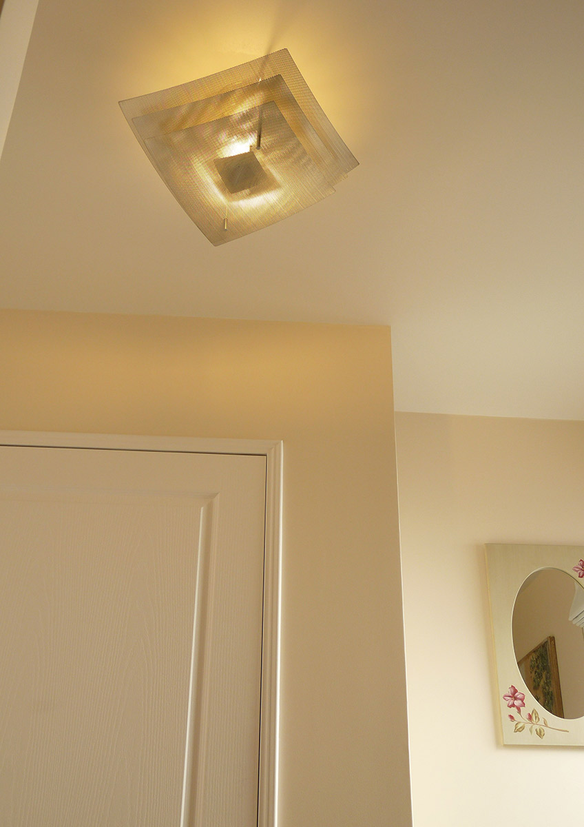 Lamp ceiling light eclipse corridor focus Thierry Vidé Design