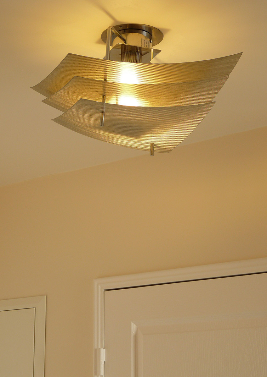 Lamp ceiling light eclipse corridor zoom Thierry Vidé Design