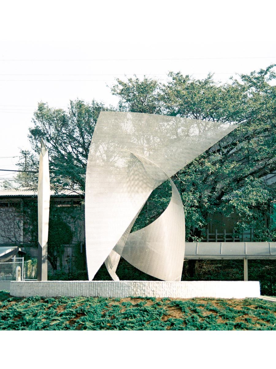 Sculpture envol Japan on day Thierry Vidé Design
