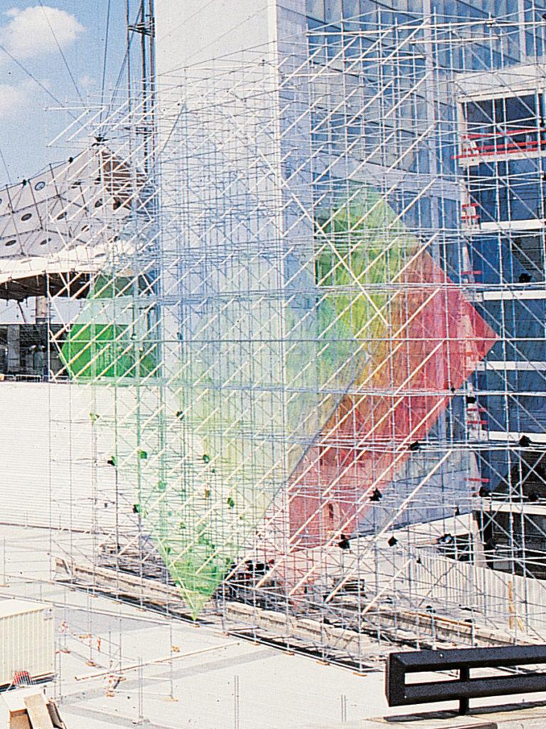 Sculpture La Défense by day Thierry Vidé Design