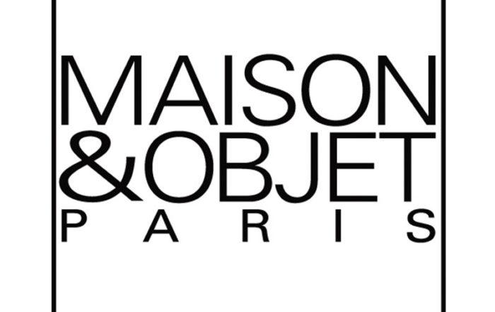 Logo Maison et Objet blanc Thierry Vidé Design