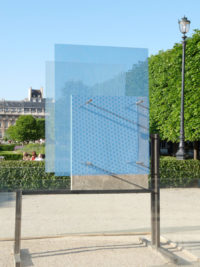 Sculpture Berlin's Wall exhibition in Paris Thierry Vidé Design