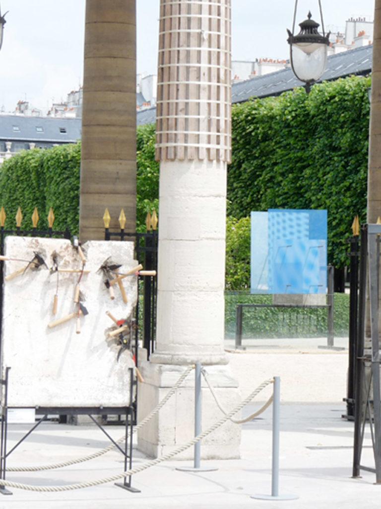 Sculpture Mur de Berlin exposition Thierry Vidé Design