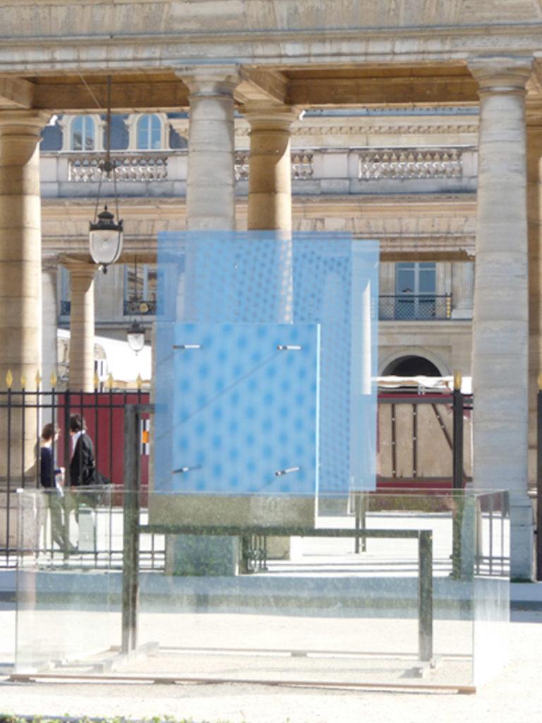Sculpture Mur de Berlin jour Thierry Vidé Design