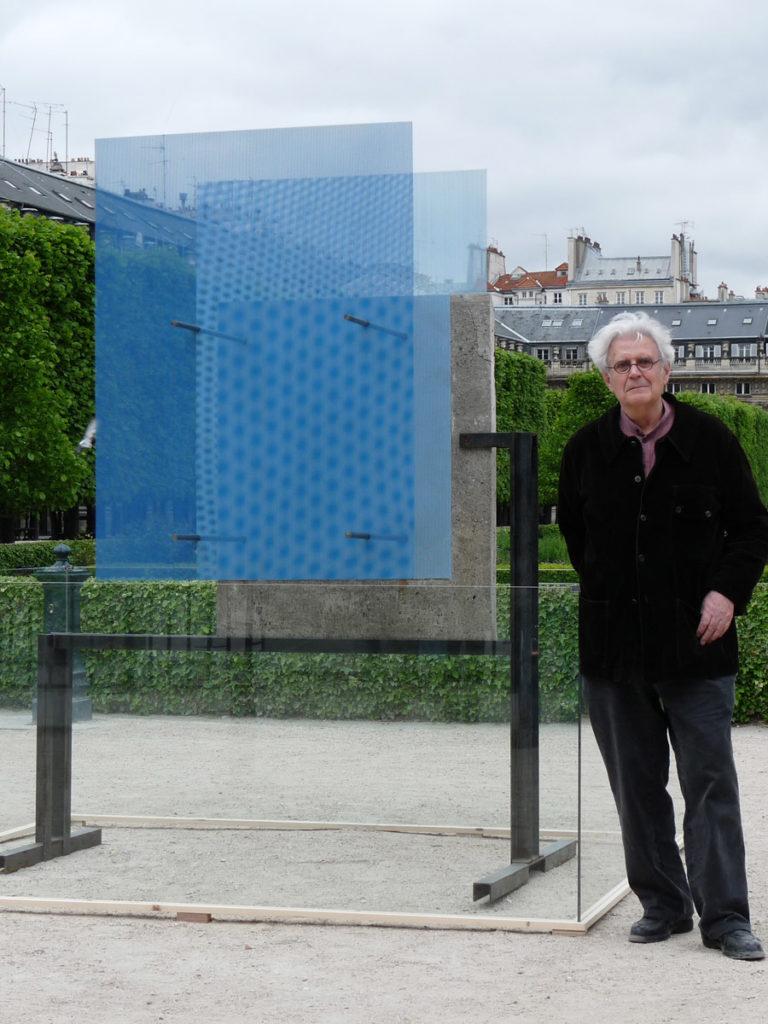 Sculpture Mur de Berlin avec Thierry Thierry Vidé Design