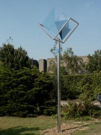 Luminaire Signal de Lumière Bruxelles bleu Thierry Vidé Design