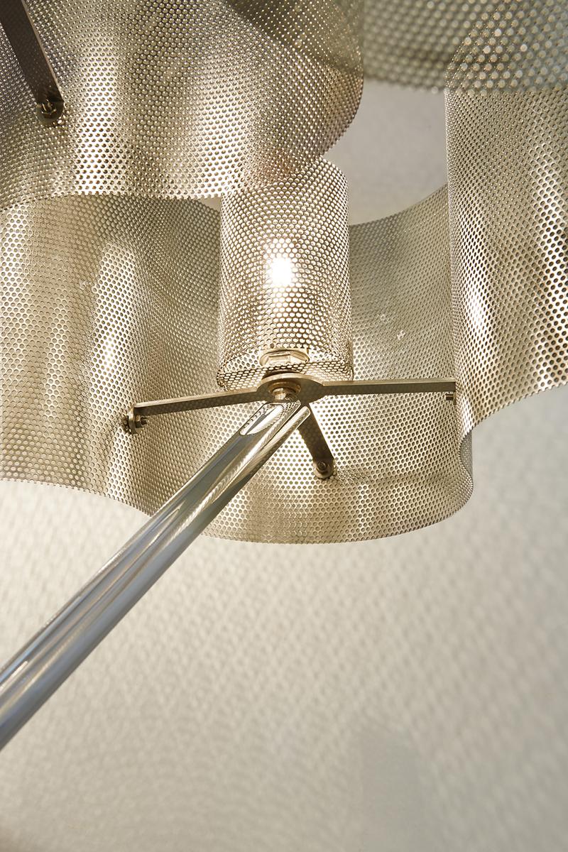 Luminaire lampe Nuage Thierry Vidé zoom interne du luminaire