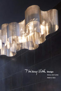 Couverture catalogue 2017-2018 Thierry vidé Design
