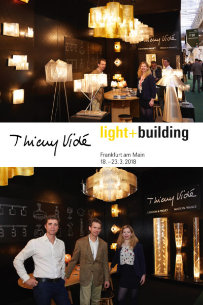 Salon Light & Building Thierry Vidé Design